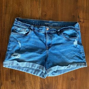 Boyfriend Denim Shorts | Old Navy